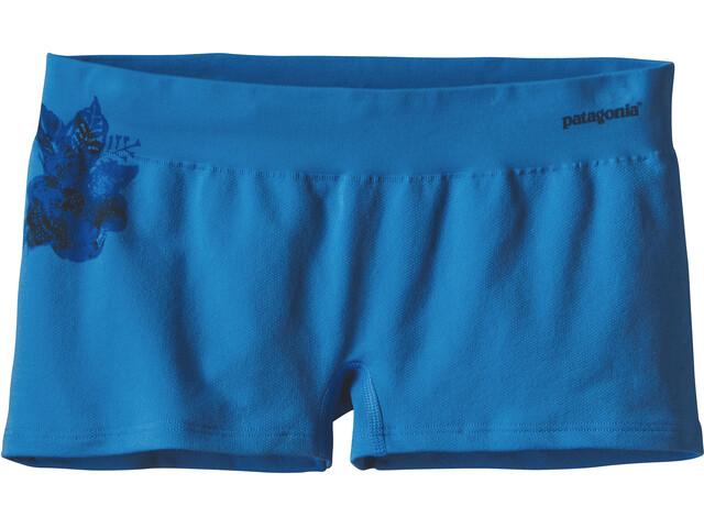 Patagonia Active Mesh Shorts Boys Dropdot Graphic: Radar Blue
